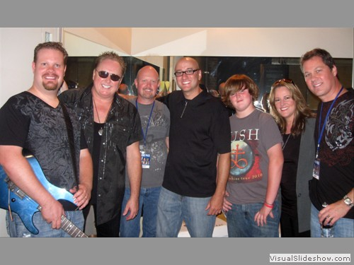 Soul Soup with Mike Reno from Loverboy after backing him for a charity event